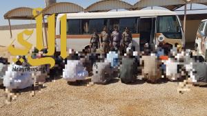 شرطة محافظة طبرجل تنفذ حملة أمنية الثلاثاء