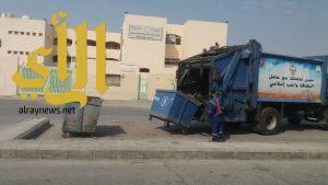 بلدية القطيف : رفع 46 ألف متر مكعب من النفايات والأنقاض