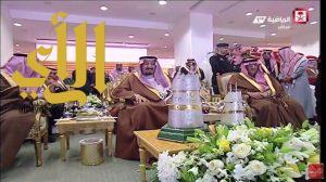 الملك سلمان يرعى المهرجان السنوي الكبير لسباق الخيل على كأس المؤسس