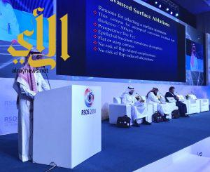 إنطلاق البرنامج العلمي لمؤتمر البحر الأحمر الدولي الرابع لطب العيون بجدة