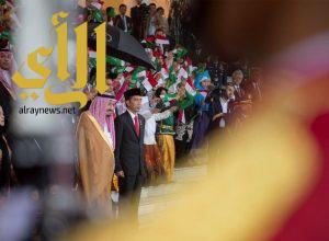 خادم الحرمين يشرف مأدبة الغداء التي أقامها الرئيس الإندونيسي