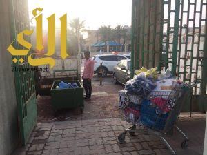 بلدية محافظة الجبيل تضبط 10 بسطات مخالفة