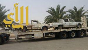 بلدية السعيرة تزيل 30 سيارة تالفة ضمن حملة معالجة التلوث البصري