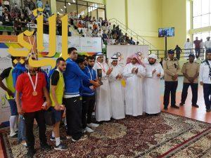 جامعة القصيم تتوج ببطولة كرة قدم الصالات على مستوى الجامعات السعودية