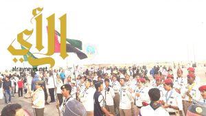 الكشافة السعودية تشارك في الاحتفاء باليوم الوطني لدولة الامارات