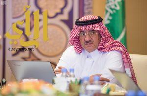نائب خادم الحرمين يرأس مجلس الشؤون السياسية والأمنية