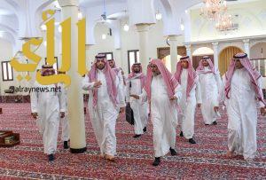 أمير الحدود الشمالية يقف على استعدادات وجاهزية المساجد لاستقبال شهر رمضان المبارك