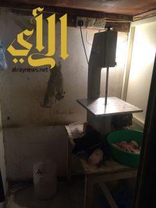 بلدية الخفجي تشارك مع حملة ( وطن بلا مخالف ) في التفتيش على المنشآت الصحية