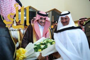 أمير الجوف يستقبل الأهالي والمسئولين بمحافظة دومة الجندل