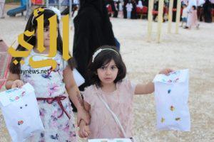 سياحة بيشة تشارك الأطفال فرحتهم بالعيد
