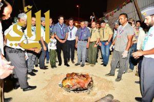 الأمين العام للمنظمة الكشفية العالمية يزور جمعية الكشافة العربية السعودية
