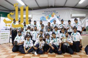 جوالة جامعة الباحة تحقق المركز الأول في الخدمة الميدانية للزوار والمعتمرين خلال شهر رمضان