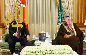 خادم الحرمين وأردوغان يعقدان جلسة مباحثات رسمية