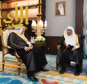 سمو الأمير حسام بن سعود يستقبل رئيس المحكمة العامة بالباحة