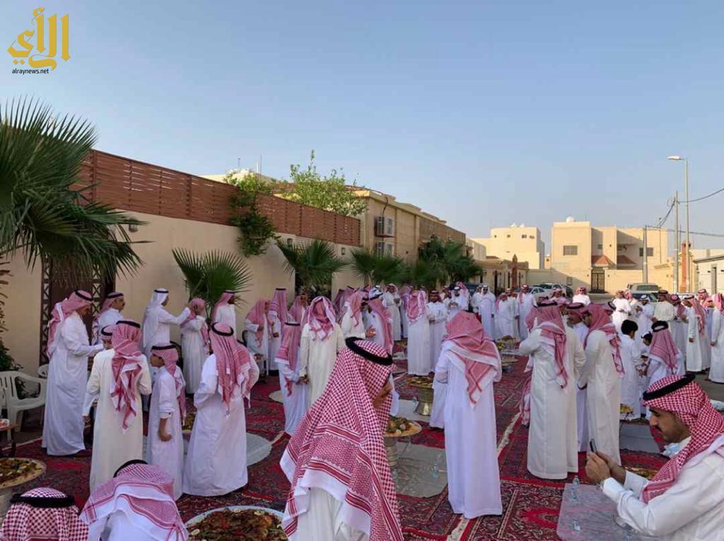بالصور الأستقبال  وكرم الضيافة موروث شعبي ومظاهر للفرح  في العيد…