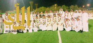 معهد العاصمة النموذجي يحتفي بمنتخب إدارة تعليم الرياض لكرة القدم