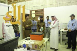 وفد مركز تدريب الدفاع المدني بعسير يقوم بزيارة تعريفية لمنشآت تقنية أبها