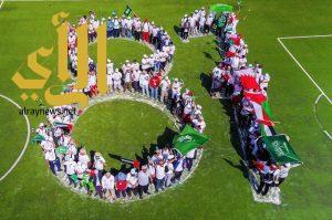 كلية ابن رشد بأبها تحتفل باليوم الوطني بالتعاون مع هايكنج السعودية