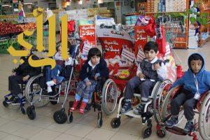 أطفال عسير المعوقين يشاركون التربية الفكرية في اليوم العالمي لمتلازمة داون و يزورون بندة