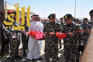 قائد قوات أمن المنشآت يتفقد منطقة القصيم ويفتتح عدداً من المباني