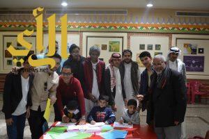 الأطفال المعوقين بعسير يختتمون ورشة الخط العربي بأكثر من 35 مخطوطة