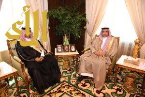 نائب أمير عسير يستقبل الرئيس التنفيذي لشركة المياه الوطنية