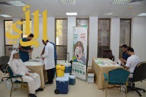 حملة تطعيم لمنسوبي «بلدية القطيف»