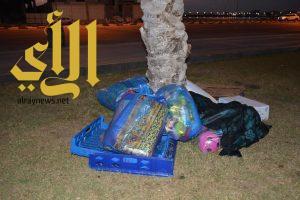 بلدية القطيف تطلق حملة على الباعة الجائلين المخالفين بكورنيش الغدير