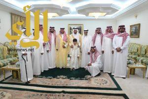 أمير عسير وسمو نائبه يشرفان حفل أسرة الأستاذ محمد الزيد