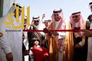 نائب أمير عسير يدشن مشاريع تنموية بخميس مشيط