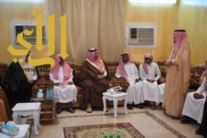 نائب أمير منطقة عسير ينقل تعازي القيادة لأسرةالشهداء بعدد من محافظات المنطقة