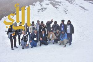 رواد الكشافة يستكشفون بحيرة كوشلاك وقمة جبل توفيدغ في اذربيجان