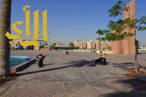 إدارة النظافة في بلدية الخبر تكثف أعمالها خلال إجازة منتصف الفصل الثاني