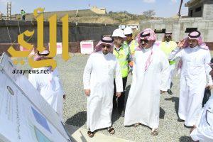 الأمير تركي بن طلال يطلع على الصيانة الوقائية لمحطات المياه بالمنطقة