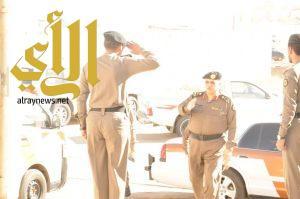 """اللواء"""" قحاط"""" يزور مركز شرطة الخالدية ومركز شرطة العزيزية"""