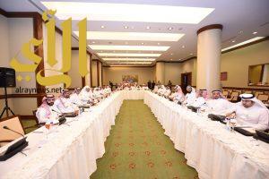 عقد اجتماع مدراء إدارات التغذية بالمديريات الصحية بالمناطق بأبها