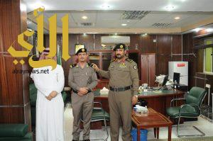 ترقية أفراد من شرطة منطقة الجوف الى رتبة رئيس رقباء