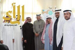 """عقد شراكة تنموية ما بين جامعة الباحة وجمعية """"إسعاد"""" الخيرية"""