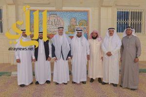 مدير جامعة الباحة يزور كلية التربية والهندسة ومركز التدريب