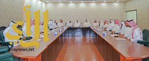لجنة الاستقدام تعقد إجتماعها بحضور بحضور أمين عام الغرفة