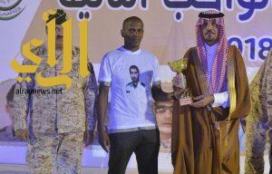 وزير الحرس الوطني يتوج الفائزين في بطولة شهداء الواجب