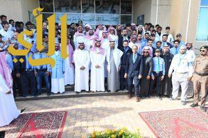 الأمير عبدالله بن بندر يزيح الستار إيذانا بإفتتاح الكلية التقنية بمحافظة تربة