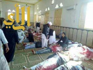 عشرات القتلى والجرحى في تفجير إرهابي استهدف أحد المساجد في سيناء
