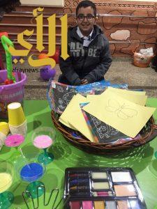 الأطفال المعوقين بعسير وجستف يستعدون لإقامة ورشتهم الفنية