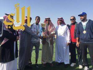 ثانوية الفتح أبطال شمال الرياض لكرة القدم
