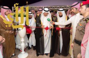 أمير منطقة الباحة يدشن المباني الجديدة لكلية العلوم والآداب للبنات بمحافظة المخواة
