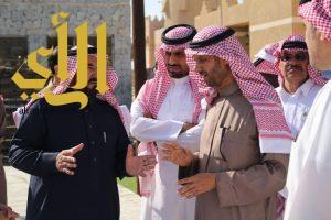 وكيل إمارة منطقة الباحة يتفقد التجهيزات النهائية لقرية الباحة التراثية المشاركة بالجنادرية ٣١