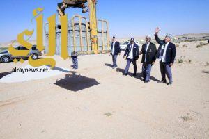 رواد كشافة المجمعة ينشؤون مصليات مؤقتة بالمتنزهات وطرق المسافرين