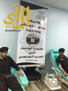 انطلاق حملة الترع بالدم بمحافظة أحد رفيده