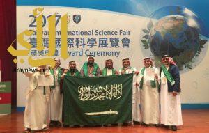 تعليم عسير الرابع عالمياً في معرض تايوان الدولي للعلوم